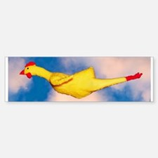 Rubber Chicken Bumper Bumper Bumper Sticker