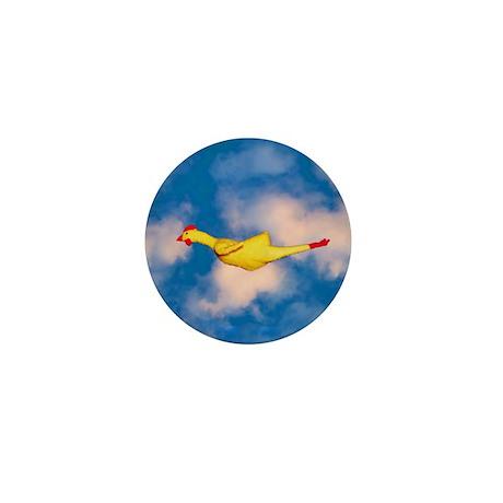Rubber Chicken Mini Button (100 pack)