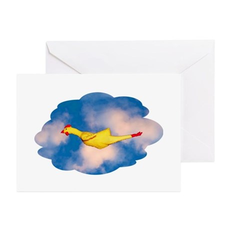 Rubber Chicken Greeting Cards (Pk of 10)