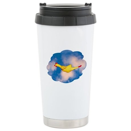 Rubber Chicken Stainless Steel Travel Mug