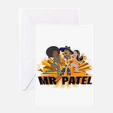 Mr Patel Greeting Card