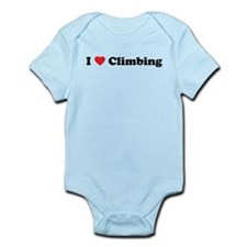 I Love Climbing Infant Bodysuit