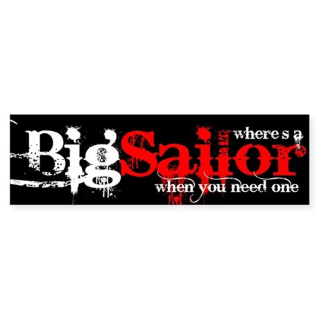 Big Sailor Bumper Sticker