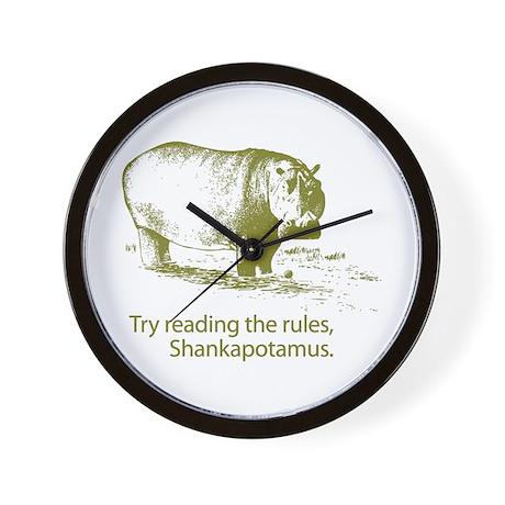 Shankapotamus Wall Clock