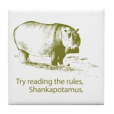 Shankapotamus Tile Coaster