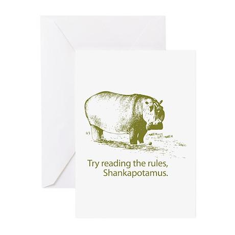 Shankapotamus Greeting Cards (Pk of 10)