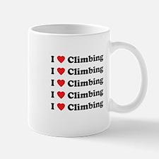 I Love Climbing (A lot) Mug
