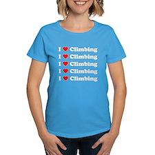 I Love Climbing (A lot) Tee