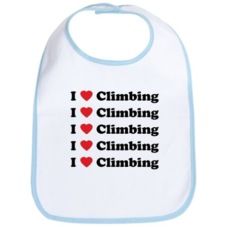 I Love Climbing (A lot) Bib