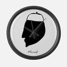 """Monk"" Large Wall Clock"