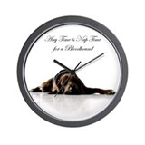 Bloodhound Wall Clocks
