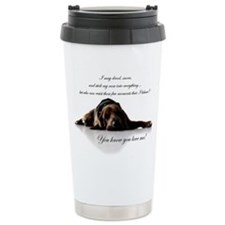 Cute Bloodhounds Travel Mug