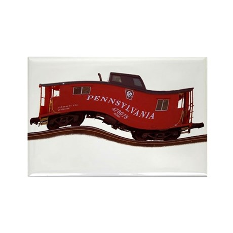 Pennsylvania Caboose Rectangle Magnet