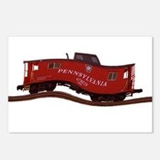 Pennsylvania Caboose Postcards (Package of 8)