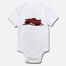 Pennsylvania Caboose Infant Bodysuit