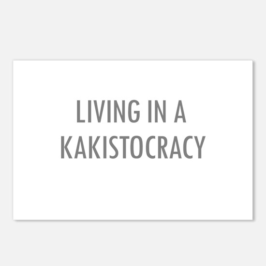 Kakistocracy Postcards (Package of 8)