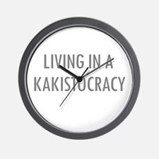 Kakistocracy Wall Clock