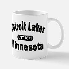 Detroit Lakes Est 1871 Mug