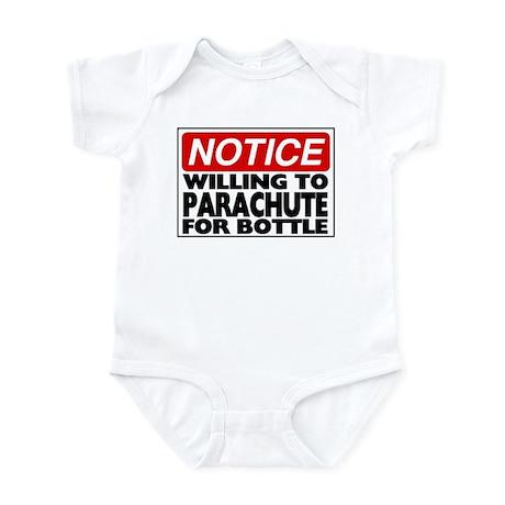 Will Parachute for Bottle Infant Bodysuit