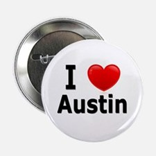 "I Love Austin 2.25"" Button"