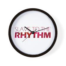 Rhythm Slave Wall Clock