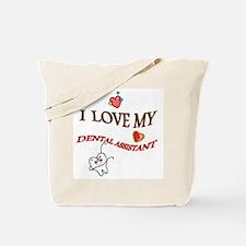 Cool Dental assistant Tote Bag