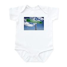 MAKE MONEY FROM ZERO Infant Bodysuit