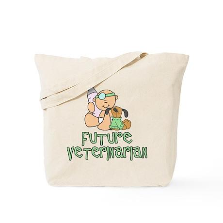 Future Veterinarian Baby (tx) Tote Bag