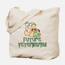 Future Veterinarian Baby (tx) Tote Bag