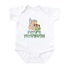 Future Veterinarian Baby (tx) Infant Bodysuit
