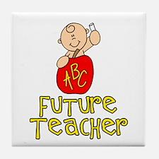 Future Teacher Baby Btx Tile Coaster