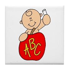 Future Teacher Baby B Tile Coaster