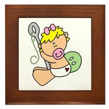Future Seamstress Baby Framed Tile