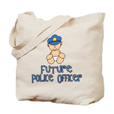 Future Police Baby (tx) Tote Bag