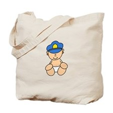 Future Police Baby Tote Bag