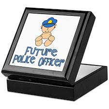 Future Police Baby (tx) Keepsake Box