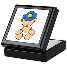 Future Police Baby Keepsake Box