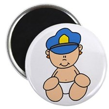 Future Police Baby Magnet