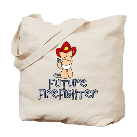 Future Firefighter Baby (tx) Tote Bag
