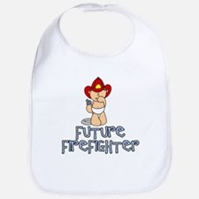 Future Firefighter Baby (tx) Bib