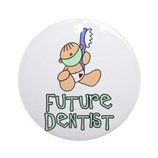 Future Dentist (tx) Ornament (Round)