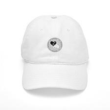 Heart lace / ying yang Baseball Cap