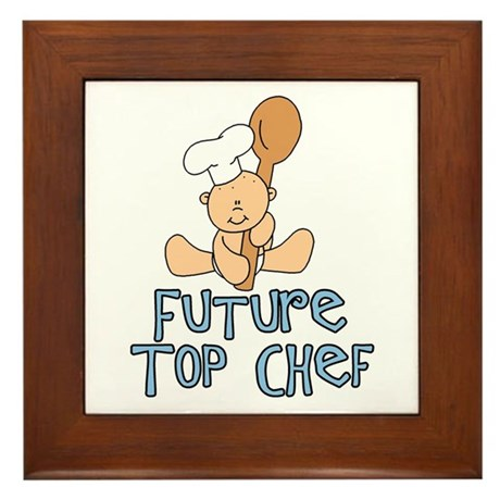 Future Top Chef (tx) Framed Tile