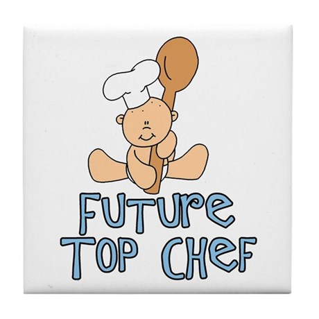 Future Top Chef (tx) Tile Coaster