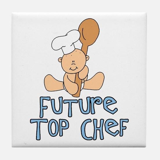 Future Top Chef (tx) Tile Coaster
