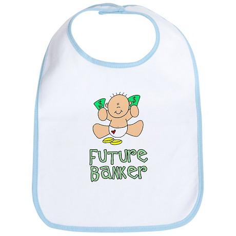 Future Banker Baby (tx) Bib