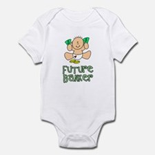 Future Banker Baby (tx) Infant Bodysuit