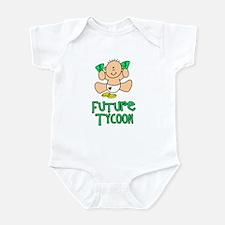 Future Tycoon Baby (tx) Infant Bodysuit