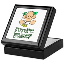 Future Banker Baby (tx) Keepsake Box