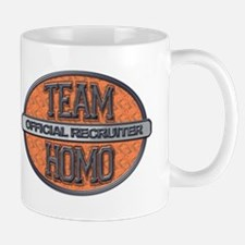 Team Homo Recuiter Mug